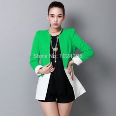 Find More Wool & Blends Information about 2014 New Fashion Winter Women Slim Blazer Coat Casual Jackets Long Sleeve O Neck Pink/Grenn White One Button Suit OL Outerwear,High Quality jackets sportswear,China jackets fur Suppliers, Cheap suit jacket blazer from XJD Store on Aliexpress.com