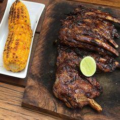 #ribs #grill #corn