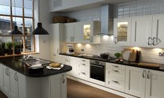 Shaker Cream Matt Kitchen | Wren Kitchens
