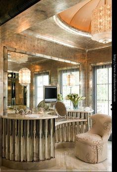 Glamorous vanity