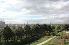 Le O'Paris - 1 rue des Envierges   Où se retrouvent les Bobos du 20ème  Une vue magnifique en haut du parc de Belleville.