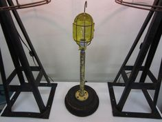 Recycled Plumbing & Automotive Parts Lamp W/Wood Foundry Mold Base