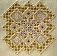 Gallery.ru / Judy Dixon. Violet Fantasy - Схемы ХАРДАНГЕР Judy Dixon (hardanger) в нашем магазине - Elena-Ros