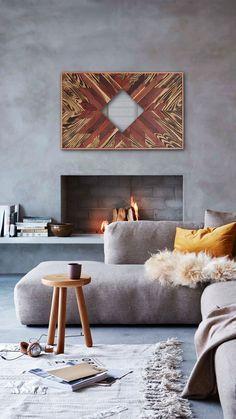WoodMirror - Lucatan II, Woodboz  WoodMirror  Koleksiyonundan duvarlarınız için benzersiz bir ayna. Tamemen el işçiliği, doğal masif ahşaptan üretilmiştir. Mutfak, oturma odası, yemek odası duvarları için ideal bir dekorasyon ürünüdür. Decor Room, Living Room Decor, Home Decor, Wall Decor, Bedroom Decor, Living Room Designs, Living Spaces, Living Rooms, Living Divani