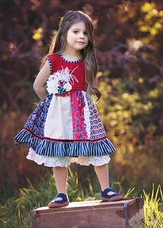 Persnickety Penelope Dress Summer Celebration PREORDER $88.00