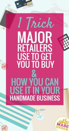 This little trick will make a HUGE difference when it comes to selling your products online or in person at craft fairs.