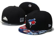 Toronto Blue Jays Black Snapback Hats Galaxy Brim only US$6.00 - follow me to pick up couopons.