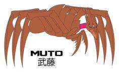 Godzilla 2014 Muto Fan Art