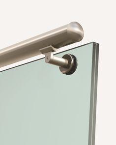 Pasamanos aluminio Inox redondo