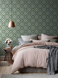 Hello! We love this beautiful Geometric Pattern Wallpaper. And were sure youll…