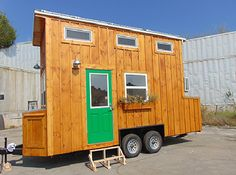 This is the Green Living model by Incredible Tiny Homes. The base price for this 16 ft. home is $25,000. Please enjoy, read more, and re-share below! Green Living Model by Incredible Tiny Homes: $2…