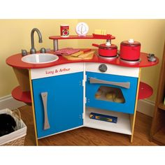 Melissa And Doug Personalized Cooks Corner Play Kitchen Start Training Your Little Sous Chef Early