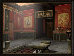 Roman Atrium  The Ancientvine Domus