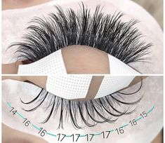 great lash mapping for eyelash extensions Eyelash Extensions Styles, Individual Eyelash Extensions, Whispy Lashes, Eyelash Studio, Perfect Eyelashes, Eyelash Technician, Great Lash, Lash Room, Beauty Bar