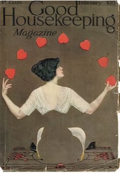 Valentine's Day Coles Phillips cover for Good Housekeeping, 1913