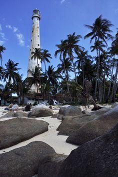 Lighthouse Lengkuas Island by miss verly, via Flickr