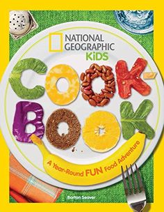 NATIONAL GEOGRAPHIC KIDS COOKBOOK written by celebrity chef and National Geographic Fellow Barton Seaver contains more than fifty, all-new and yummy recipes, ideas for creative crafts and  activities and shows how cooking can be both healthy and fun. Highlights include a pack-your-lunch challenge, fall harvest feasts, festive holiday meals, snow day snacks, how to host a dinner party for friends, gardening & other holiday fun!