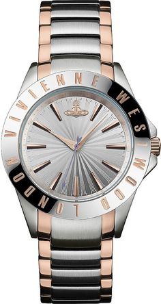 Vivienne Westwood VV099RSSL Time Machine Stainless Steel Watch, Women's, Silver
