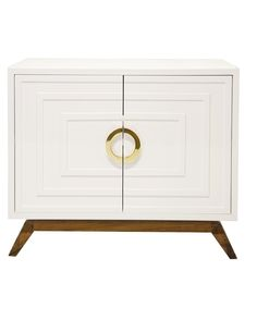 stunning white lacquer nightstand furniture. Interior HomeScapes Offers The Bernard White Lacquer 2 Door Cabinet With  Stained Hardwood Base And Brass HardwareInterior By Worlds Away. Stunning White Lacquer Nightstand Furniture H