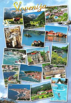Slovenia - post cards