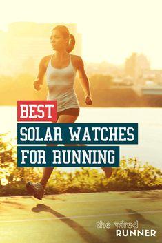 Best Solar Watches For Running in 2021 Running Gps, Best Running Gear, Running Watch, Best Running Shoes, Marathon Running, Running Training, Training Tips, Running Apparel, Road Running