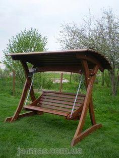 Though early in strategy, a pergola continues to be enduring a bit of a Outdoor Wooden Swing, Wooden Swings, Outdoor Decor, Porch Swing Frame, Pergola Swing, Outdoor Furniture Plans, Garden Furniture, Furniture Design, Wooden Lawn Chairs