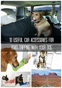 Are you ready to create some amazing summer vacation memories by hitting the open road with your canine best friend? Before you pack up and get going, check out some of these car accessories and gadgets...