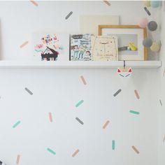 Confetti on the wall dekornik.pl