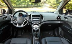 Chevy Sonic LTZ Turbo interior...Very Nice.....and up to 40 mpg!