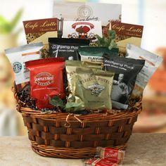 Coffee Rush   Coffee Gift Basket