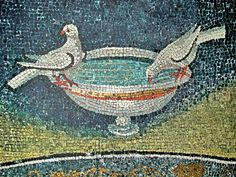 Ravenna: Mosaic detail.  Travel Journal: ITALY...GREECE...Only In My Dreams, But Not For Long.