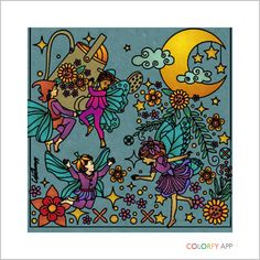 Colorfy, lullaby palette