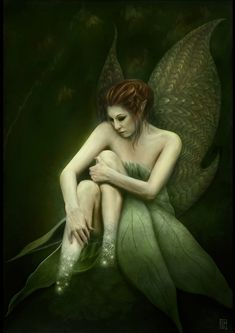 Fantasy Women Art | Fading away Picture (2d, fantasy, fairy, girl, female, woman)