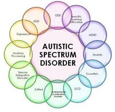 Autism is categorised (DSM IV & V) as a Mental Health disorder. Autism rarely comes alone & is often associated with the comorbidity diagnoses of Anxiety, Dyslexia, Depression & Sensory Processing Disorder to name a but a few.