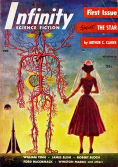 sciencefictiongallery:  Robert Engle - Infinity, November 1955.