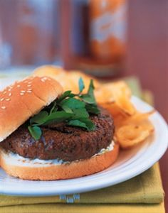 Firecracker Burgers with Cooling Lime. Happy Fourth of July! #wabeeflove