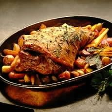Autumn Lamb Braised in Beaujolais - Roasts - Recipes - from Delia Online
