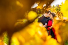 Gorgeous fall engagement session at Clover Hill Vineyards & Winery | Juliana Laury Photography | Philadelphia + Bucks County Wedding Photography