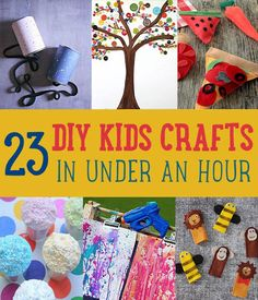 DIY Kids Crafts You Can Make in Under an Hour
