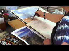 Watercolour tutorial by Julie Goldspink - Colour in Your Life