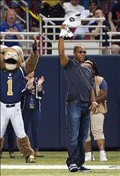 Former St. Louis Rams Super Bowl Champion Tory Holt 9-16-12