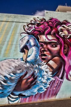 Toowoomba's annual street art festival | 57 supersized murals painted by local and international artists | Queensland, Australia
