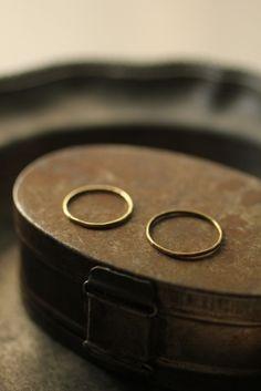 Pair Kyasha Brass Ring - IRRE