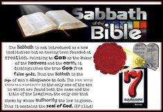 Bible sabbath....