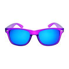 c489076628 Cool Reflective Mirror Lens Party Style Matte Wayfarer Sunglasses W2110  Gafas De Sol De Espejo,