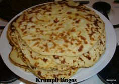Hungarian Recipes, Mashed Potatoes, Pancakes, Food And Drink, Pizza, Bread, Breakfast, Ethnic Recipes, Foods