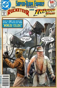 The Rocketeer and Indiana Jones
