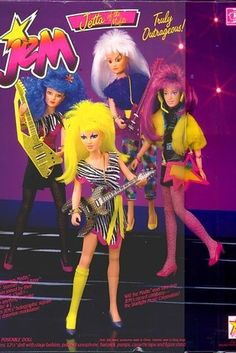 Jem and the Holograms Dolls | 35 Awesome Toys Every '80s Girl Wanted For Christmas