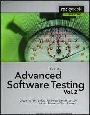 Advanced Software Testing Vol. 2 : Guide to the ISTQB Advanced Certification as an Advanced Test Manager by Rex Black Paperback) for sale online Software Testing, Free Books Online, Books To Read Online, Machine Learning Tools, Systems Engineering, Catch App, Learning Objectives, Computer Programming, Libros