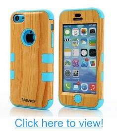 Meaci Iphone 5c Case Hard Soft Combo Hybrid Defender High Impact Body Armorbox Hard Pc$silicone Case (Wood Pattern$blue) #Meaci #Iphone #5c #Case #Hard #Soft #Combo #Hybrid #Defender #High #Impact #Body #Armorbox #Pcsilicone #Wood #Patternblue